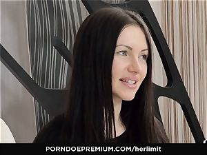 HER restrict - harsh assfuck and face plumb with Sasha Rose