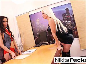 Nikita's all girl office pound