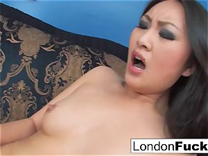 London Keyes and Evelynn Linn have some g/g act
