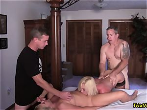 gang poke the Stripper with Ms Paris Rose