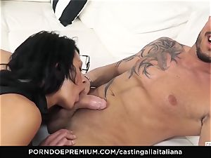 casting ALLA ITALIANA - naughty hook-up with local fledgling