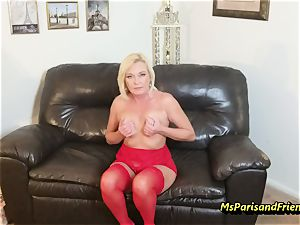 pack Up the Strippers gaping gash with Ms Paris Rose