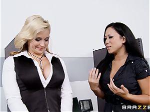 Generous boss boinks super-steamy secretary Sarah Vandella
