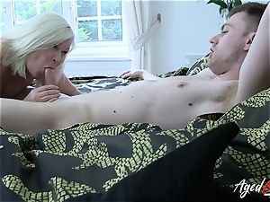AgedLovE hard-core with torrid Mature Lacey Starr