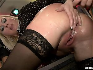 Bibi Fox and lusty damsels laid with hunk's 3rd gam
