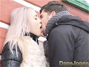 Dane Jones inhale blowjob public doggy style facial
