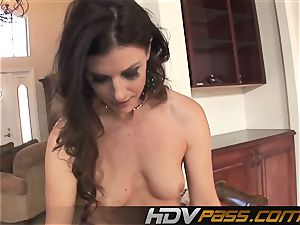HDVPass multiracial romp with India Summers