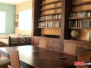 Eva Lovia catches her explore partner filming her and her stepmom getting weird