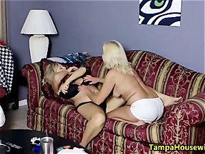 two insatiable dolls with toys