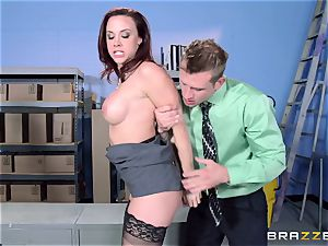Chanel Preston smashes her fabulous dude at work