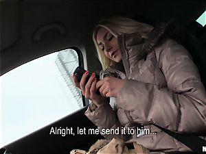 Victoria Puppy gets a strangers trouser snake deep inside her