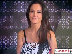 The Stripper practice- Ava Addams and get a nice tear up