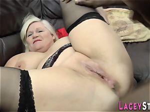 british granny ass torn up