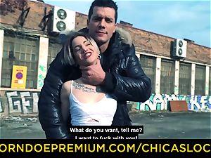 CHICAS LOCA Alternative babe exhibitionist lovemaking fest