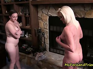 Ms Paris Rose in snatch, Maid to Order