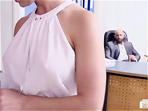 donks BUERO - steamy German secretary pounds her manager