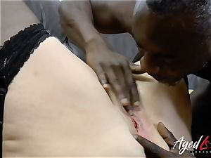 AgedLovE Lacey Starr interracial gonzo ass-fuck