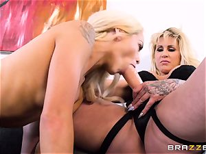 cougar and nubile Elsa Jean with Ryan Connor