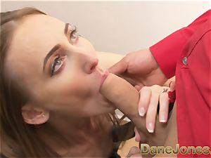 Dane Jones lengthy legs ginger-haired give her boy handsome underwear