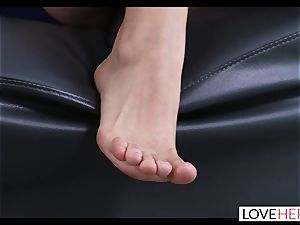 super-hot foot fucky-fucky With My Sisters hotwife bf