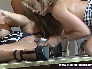light-haired busty booty slurp lezzy breezies penetrating huge playthings