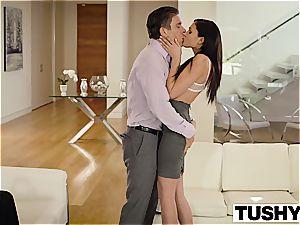 TUSHY Ariana Marie very first anal invasion