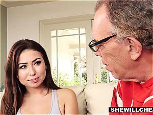 SheWillCheat- cuckold husband observes super-fucking-hot wife pound bbc
