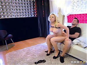 sugary lapdancer Kagney Linn Karter gets some massive penis
