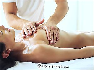 fancy Chloe Amour rubbed and satiated well