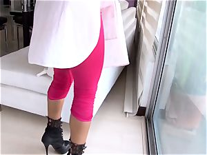 OPERACION LIMPIEZA hot intercourse with Colombian maid
