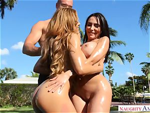 Lela starlet, Luna star - I enjoy ginormous mexican donks on my prick