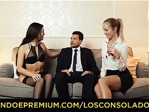 LOS CONSOLADORES - warm stunners teach hump with executive