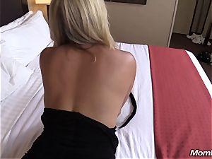 super-fucking-hot blonde mummy internal ejaculation enjoyment