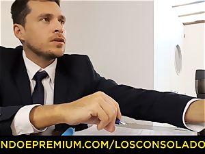 LOS CONSOLADORES - torrid casting with Hungarian Sicilia