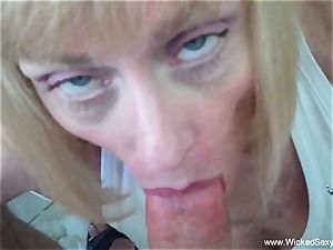 sonny coaxes mother To internal ejaculation
