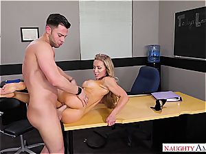 The greatest lecturer Nicole Aniston wants manhood for her blessing