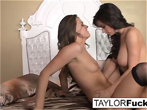 Bedroom fun with Taylor and Tori