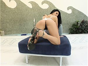 messy internal ejaculation vignette with superhot Aletta Ocean from A